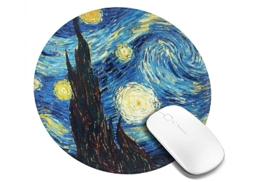 custom Starry Night Mousepad wholesale manufacturer and supplier in China
