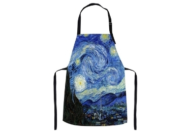 custom Starry Night Souvenir Apron wholesale manufacturer and supplier in China