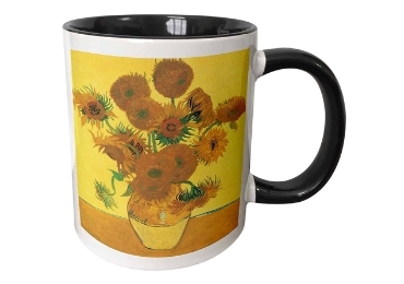 custom Sunflowers Ceramic Mug wholesale manufacturer and supplier in China