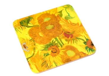 custom Sunflowers Cork Coaster wholesale manufacturer and supplier in China