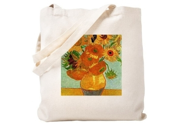 custom Sunflowers Cotton Bag wholesale manufacturer and supplier in China