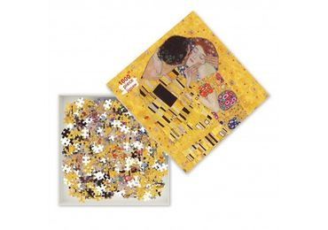 custom The Kiss Jigsaw Puzzle wholesale manufacturer and supplier in China