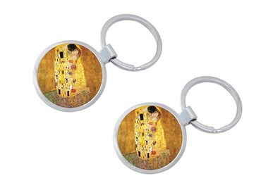 custom The Kiss Souvenir Keychain wholesale manufacturer and supplier in China