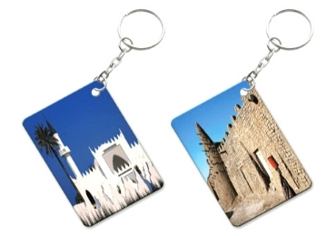 custom Tunisia Souvenir Epoxy Keychain wholesale manufacturer and supplier in China