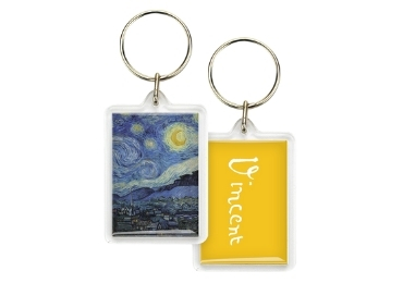 custom Van Gogh Acrylic Keyring wholesale manufacturer and supplier in China