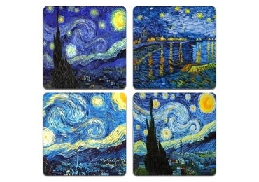 custom Van Gogh Coaster Set wholesale manufacturer and supplier in China