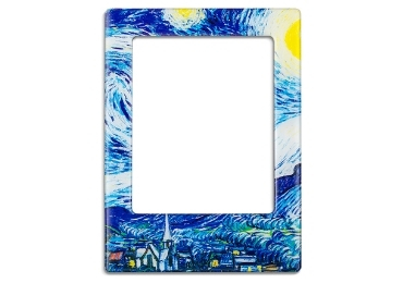custom Van Gogh Frame Magnet wholesale manufacturer and supplier in China
