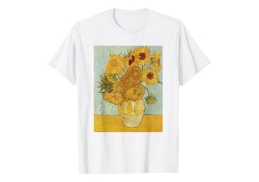 custom Van Gogh Men T Shirt wholesale manufacturer and supplier in China