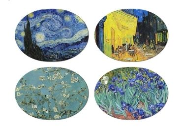 custom Van Gogh PP Table Mat wholesale manufacturer and supplier in China