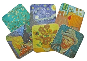 custom Van Gogh Souvenir Coaster wholesale manufacturer and supplier in China