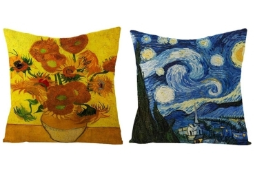 custom Van Gogh Souvenir Pillows wholesale manufacturer and supplier in China