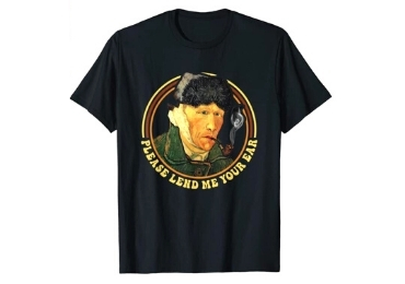 custom Van Gogh Souvenir T-shirts wholesale manufacturer and supplier in China