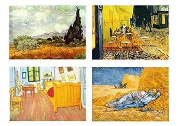 custom Van Gogh Tinplate Magnet wholesale manufacturer and supplier in China