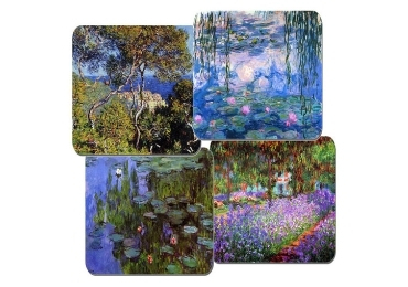 custom Water Lilies Cork Coaster wholesale manufacturer and supplier in China