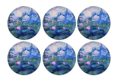 custom Water Lilies Epoxy Magnet wholesale manufacturer and supplier in China