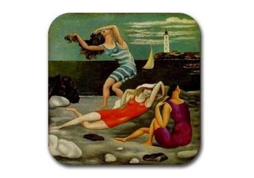 custom Bathers Souvenir Cork Coaster wholesale manufacturer and supplier in China
