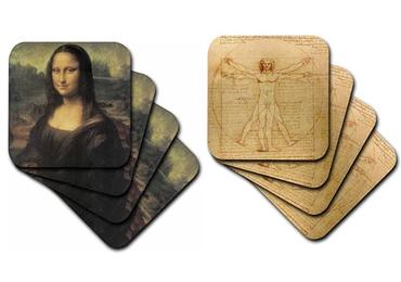 custom Da Vinci Cork Coaster wholesale manufacturer and supplier in China