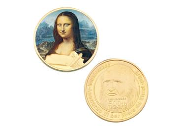 custom Da Vinci Souvenir Coins wholesale manufacturer and supplier in China