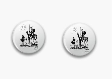 custom Don Quixote Metal Pins wholesale manufacturer and supplier in China