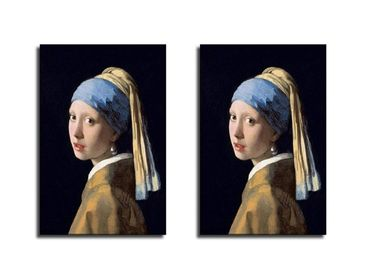 custom Girl With Pearl Earring Canvas wholesale manufacturer and supplier in China