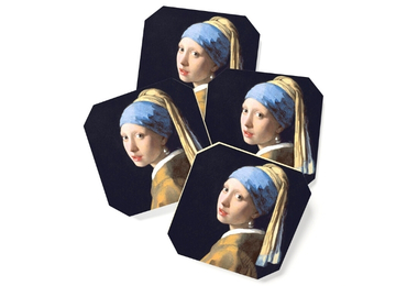 custom Girl With Pearl Earring Coaster wholesale manufacturer and supplier in China