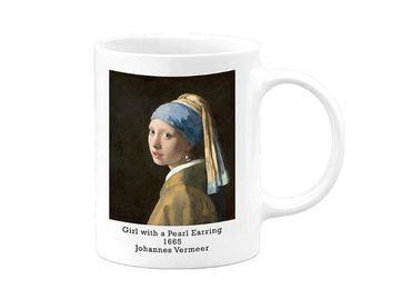 custom Girl With Pearl Earring Mug wholesale manufacturer and supplier in China