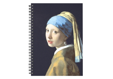 custom Girl With Pearl Earring Notebook wholesale manufacturer and supplier in China