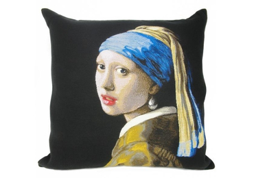 custom Girl With Pearl Earring Pillow wholesale manufacturer and supplier in China