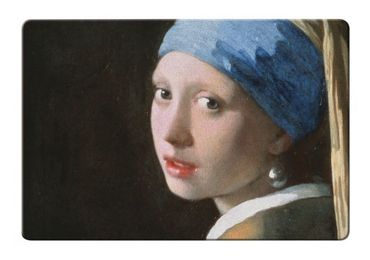 custom Girl With Pearl Earring Placemat wholesale manufacturer and supplier in China