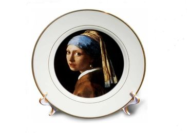 custom Girl With Pearl Earring Plate wholesale manufacturer and supplier in China