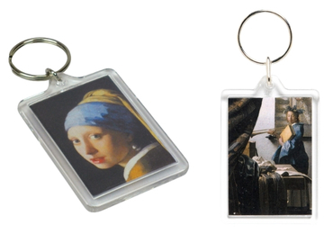 custom Johannes Vermeer Acrylic Keyring wholesale manufacturer and supplier in China