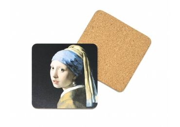 custom Johannes Vermeer Cork Coaster wholesale manufacturer and supplier in China