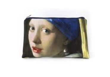 custom Johannes Vermeer Cosmetic Bag wholesale manufacturer and supplier in China