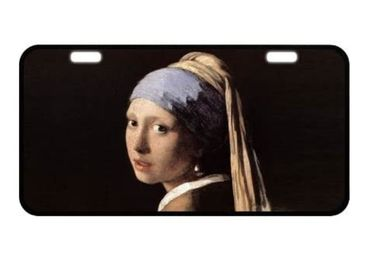 custom Johannes Vermeer License Plate wholesale manufacturer and supplier in China