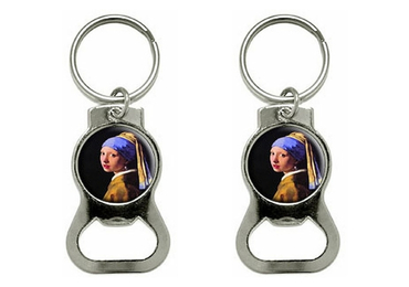 custom Johannes Vermeer Opener Keychain wholesale manufacturer and supplier in China