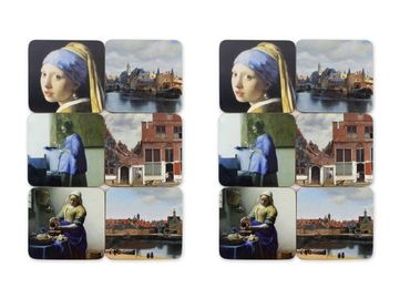custom Johannes Vermeer Souvenir Coasters wholesale manufacturer and supplier in China