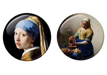 custom Johannes Vermeer Souvenir Magnet wholesale manufacturer and supplier in China