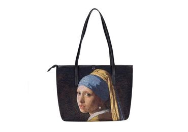 custom Johannes Vermeer Tote Bag wholesale manufacturer and supplier in China