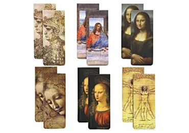 custom Leonardo Da Vinci Bookmarks wholesale manufacturer and supplier in China