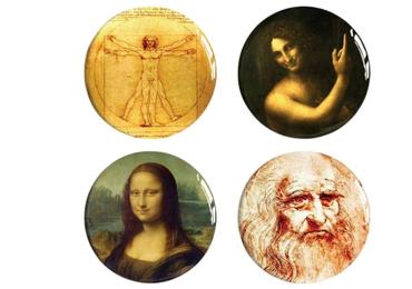 custom Leonardo Da Vinci Coasters wholesale manufacturer and supplier in China
