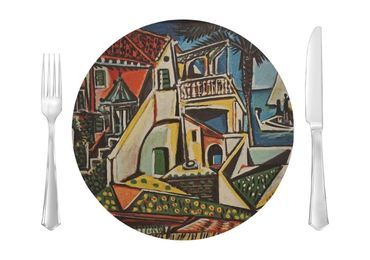 custom Mediterranean Landscape Placemat wholesale manufacturer and supplier in China