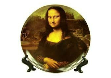custom Mona Lisa Ceramic Plate wholesale manufacturer and supplier in China