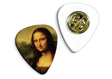 custom Mona Lisa Lapel Pin wholesale manufacturer and supplier in China