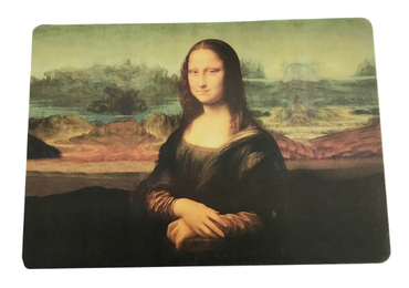 custom Mona Lisa Souvenir Placemat wholesale manufacturer and supplier in China