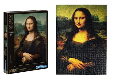 custom Mona Lisa Souvenir Puzzles wholesale manufacturer and supplier in China