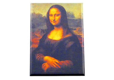 custom Mona Lisa Tinplate Magnet wholesale manufacturer and supplier in China