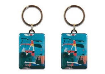 custom Pablo Picasso Epoxy Keyring wholesale manufacturer and supplier in China