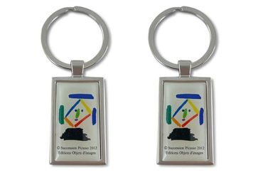 custom Pablo Picasso Metal Keychain wholesale manufacturer and supplier in China
