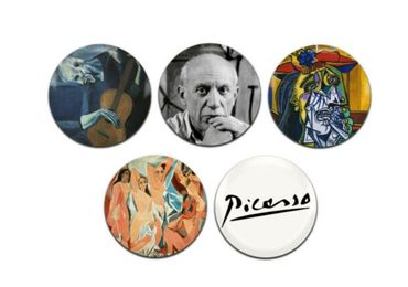 custom Pablo Picasso Souvenir Badges wholesale manufacturer and supplier in China