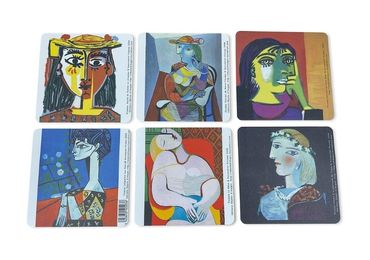 custom Pablo Picasso Souvenir Coasters wholesale manufacturer and supplier in China